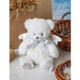 Little Angel Stuffed Teddy Bear, White