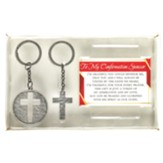 To My Confirmation Sponsor Keyring Set