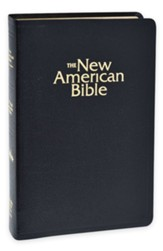 NAB Gift Bible, Bonded Leather, Black  - Slightly Imperfect