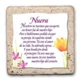 Nuera, Baldosa (Daughter in Law Sentiment Tile, Spanish)