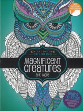 Magnificent Creatures and More, Kaleidoscope Coloring Book