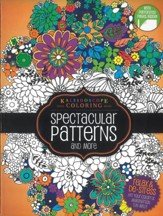 Spectacular Patterns and More, Kaleidoscope Coloring Book