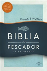 RVR 1960 Biblia del Pescador, letra grande, tapa dura (Fisher of Men Large Print Bible)