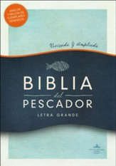 RVR 1960 Biblia del Pescado letra grande caoba simil piel (Fisher of Men Bible, Large Print, Mahogany LeatherTouch)