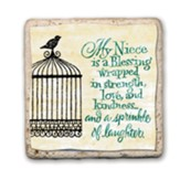 My Niece Is A Blessing Sentiment Tile
