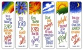 Psalms Bookmarks, Set of 12
