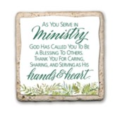 As You Serve In Ministry Sentiment Tile