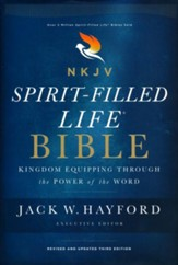 NKJV Comfort Print Spirit-Filled  Life Bible, Third Edition, Hardcover