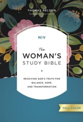 NIV, The Woman's Study Bible, Full-Color, Ebook: Receiving God's Truth for Balance, Hope, and Transformation - eBook