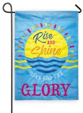 Rise and Shine Garden Flag