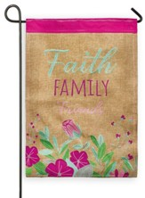Faith Family Friends Flag, Small
