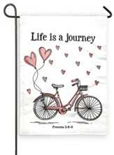 Life Is A Journey Flag, Small