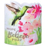 Hope Believe Pray Paper Lantern