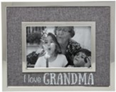 I Love Grandma Photo Frame