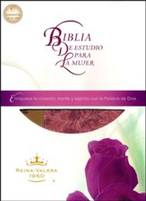 RVR Biblia de Estudio Para La Mujer, Women's Study Bible Imitation Leather