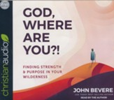 God, Where Are You?!: Finding Strength and Purpose in Your Wilderness--Unabridged Audiobook on CD