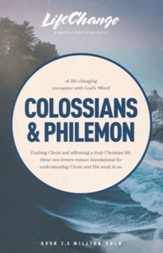 Colossians & Philemon, LifeChange Bible Study