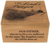 The Lord's Prayer Keepsake Memory Box