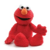 Elmo Limited Edition Seated Plush