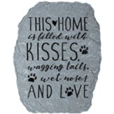 Wagging Tails Garden Stone
