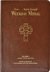 St. Joseph Weekday Missal, Volume I (Large Type Edition): Advent To Pentecost