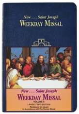 St. Joseph Weekday Missal, Volume II (Large Type Edition): Pentecost To Advent