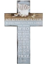 My Kitchen Prayer Wall Cross