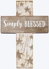 Simply Blessed Mini Cross