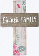 Cherish Family Mini Cross
