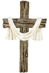 White Sash Wall Cross