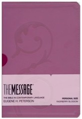 The Message Raspberry Blossom, Personal Size + Topical Concordance