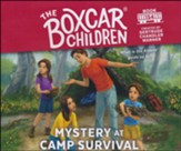 Mystery at Camp Survival, Unabridged Audiobook on CD