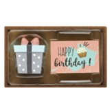 Gift Figurine with Happy Birthday Card