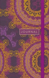 Sermon Notes Journal, Star Floral Mandala