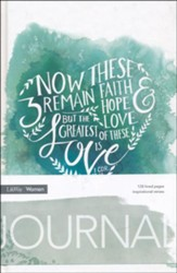 Faith, Hope, and Love Journal