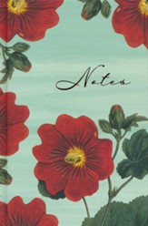 Scripture Notes Journal, Red Blooms Notes