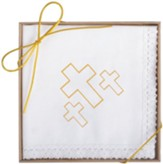 Crosses Boxed Handkerchief