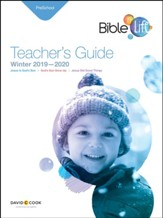 Bible-in-Life: Preschool Teacher's Guide, Winter 2019-20