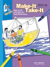 Echoes: Early Elementary Make It Take It (Craft Book), Winter 2019-20