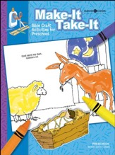 Bible-in-Life: Preschool Make It Take It (Craft Book), Winter 2019-20
