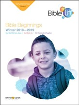 Bible-in-Life: Early Elementary Bible Beginnings Student Book, Winter 2018-19