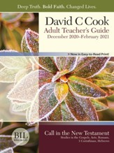 Bible-in-Life: Adult Teacher's Guide, Winter 2020-21