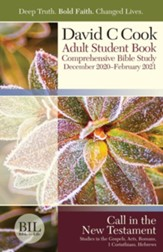 Bible-in-Life: Adult Student Book, Winter 2020-21