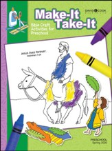 Bible-in-Life: Preschool Make It Take It (Craft Book), Spring 2020