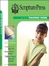 Scripture Press: 4s & 5s Teaching Guide, Spring 2019