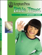 Scripture Press: 4s & 5s Bible Times Student Book, Spring 2020