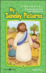 Bible-in-Life: Preschool Sunday Pictures, Spring 2019