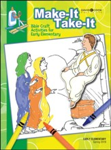 Bible-in-Life: Early Elementary Make It/Take It (Craft Book), Spring 2019