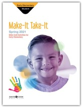 Bible-in-Life: Early Elementary Make It Take It (Craft Book), Spring 2021