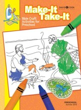 Bible-in-Life: Preschool Make It/Take It (Craft Book), Summer 2019
